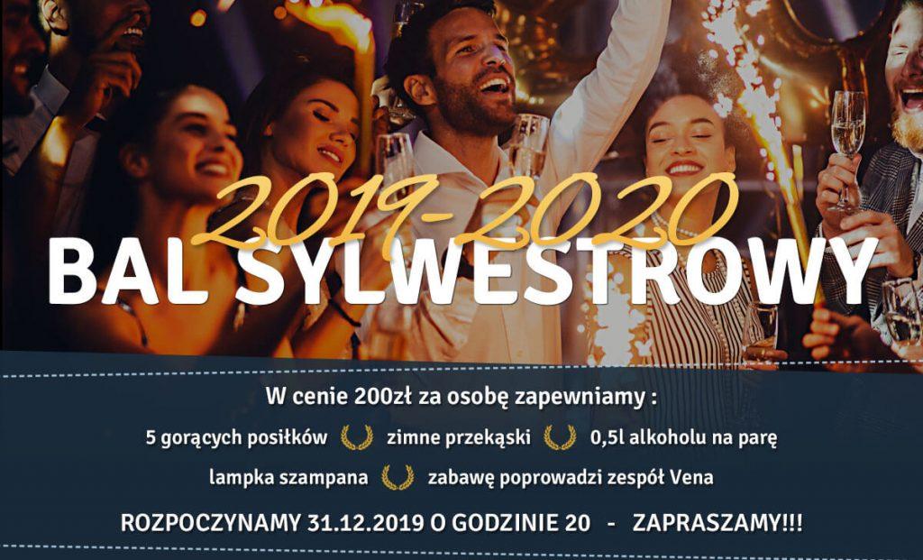 Zapraszamy na Bal sylwestrowy 2019-2020 - Restauracja Cezar